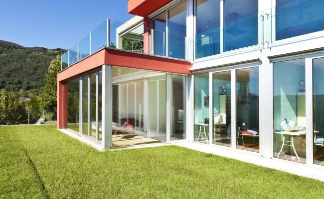 modern house outdoor